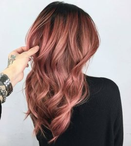 Deep Blush Rose Gold