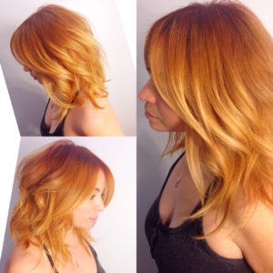Ginger Blonde Color Melt