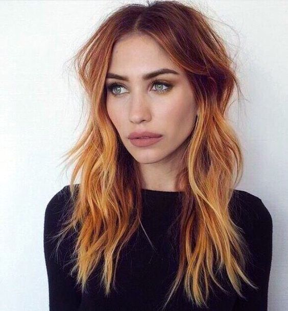 Top 35 Warm And Luxurious Auburn Hair Color Styles Part 11