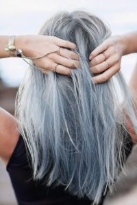 Greyish Powder Blue