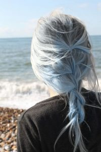 Icy Blue Braid