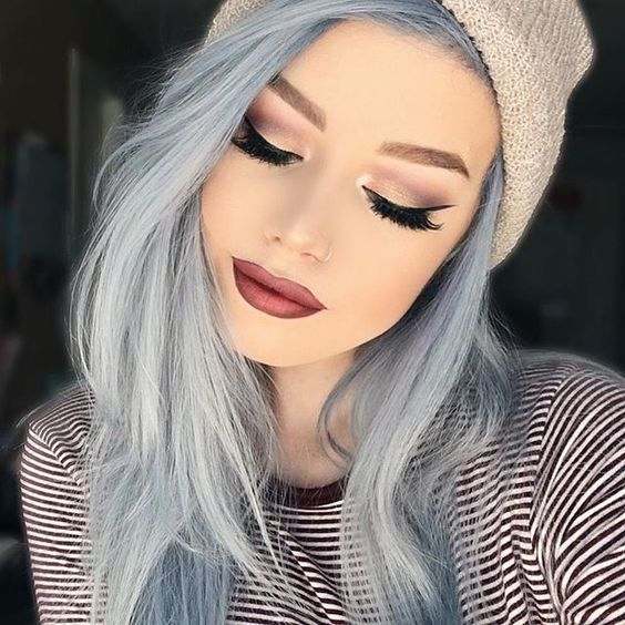 Hair Color For Very Pale Skin And Blue Eyes