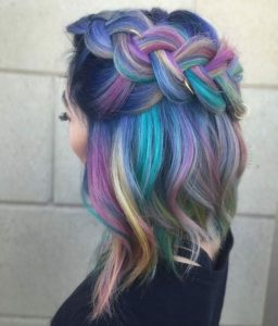 Jewel Tone Rainbow