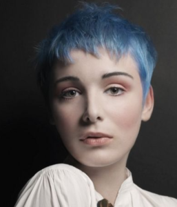 Light Blue Pixie