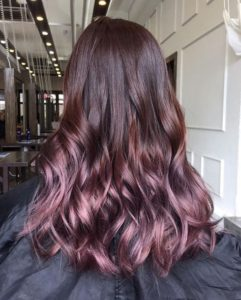 Luxe Berry Balayage