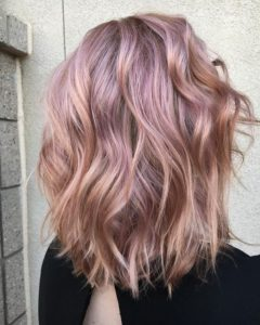 Mixed Pearlescent Rose Gold
