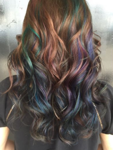 Muted Oil Slick