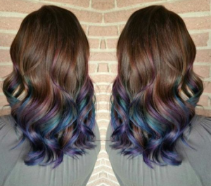 Ombre Oil Slick