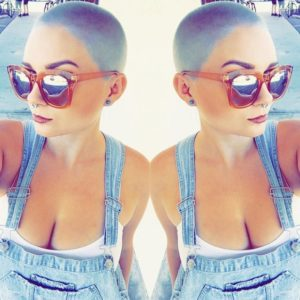 Pastel Blue Buzz Cut