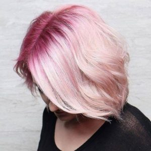 Rose Gold With Shadow Root