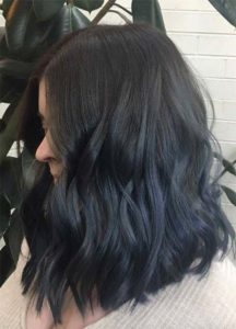 Subtle Deep Navy Ombre