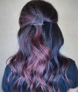 Subtle Mulberry Highlights