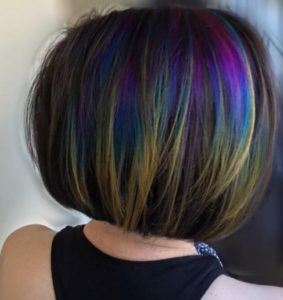 Subtle Rainbow Highlight