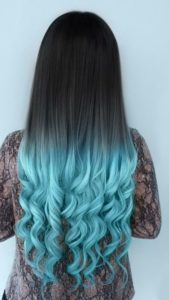 Tiffany Blue Ombre