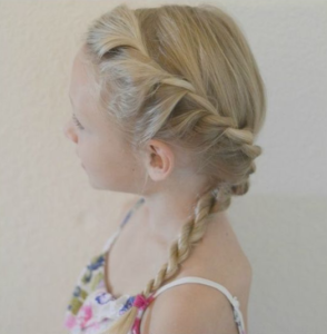 Twisted Rope Side Braid