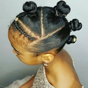 Twisted knots With Braided Bangs