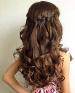 Waterfall Braid Headband