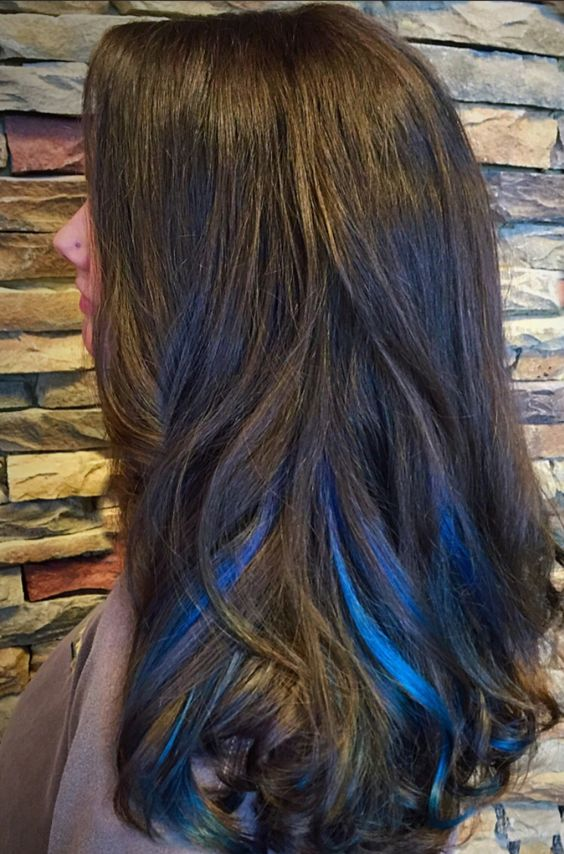 New Hair Color Techniques: Blue Hair: 30 Brand New Bangin' Blue Hair Color Ideas