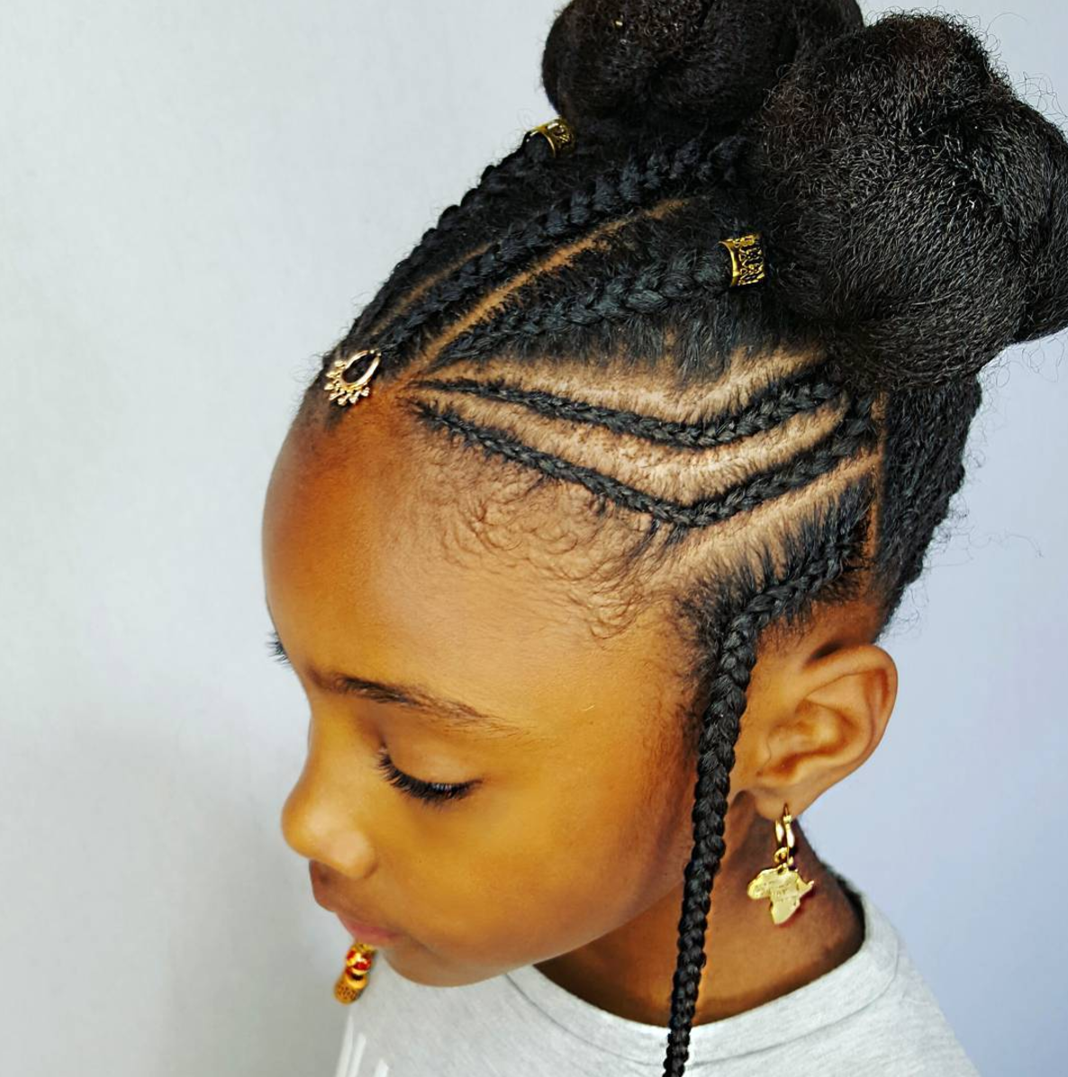 Little Girls Braids Hairstyles | Fade Haircut