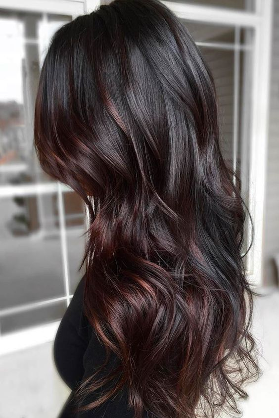 New Hair Color Techniques: 35 Rich And Sultry Dark Brown Hair Color Ideas