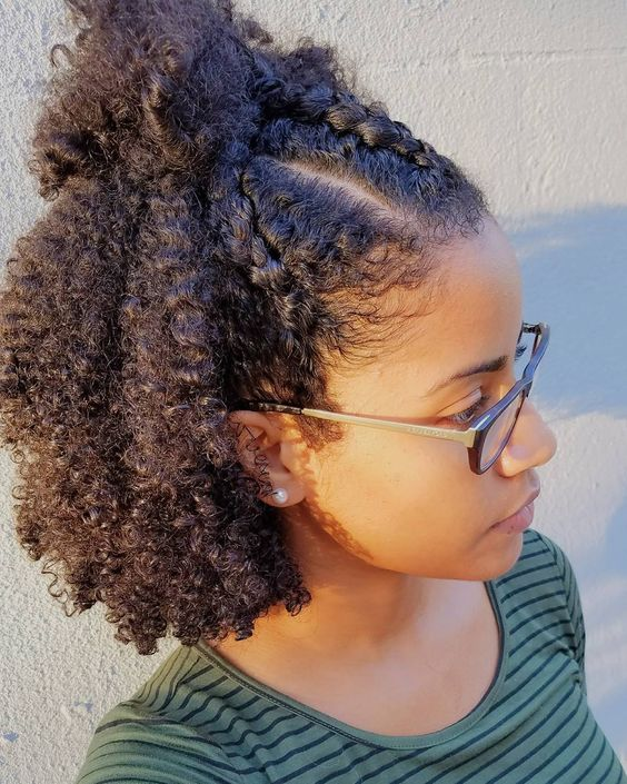 Short Natural Hairstyles | Natural Hairstyles for Short Hair