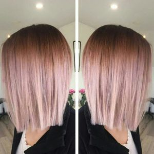 luxurious rose gold