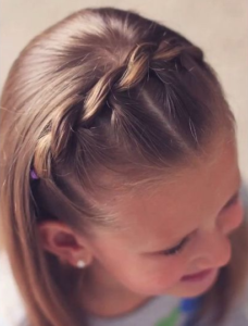 rope braid headband