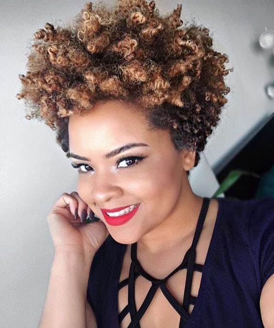 Short Natural Hairstyles For Black Women Too Short To Twist