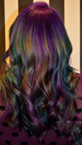 ultra vibrant oil slick