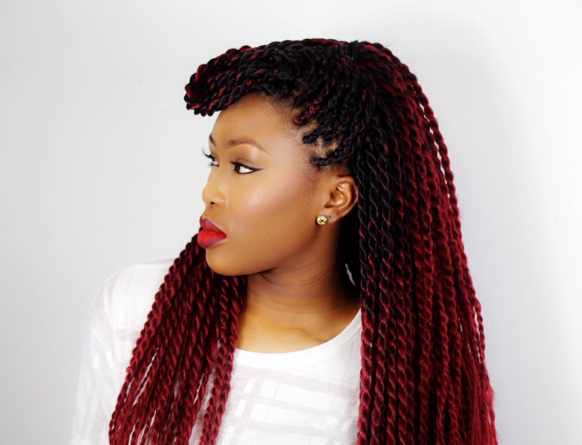 Black Hair Twist Styles Pictures: 30 Protective High Shine Senegalese Twist Styles