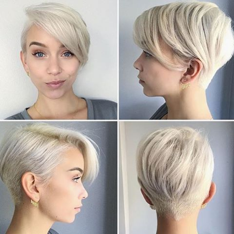 This Short Pixie Haircut Features A Wide Variety Of Lengths That Help To Remove Bulk And Make It An Excellent Choice For Women With Thick Hair