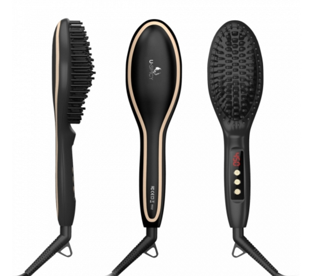 Best ceramic straightening brush for curly hair