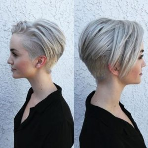 Short Hair With High undercut