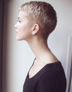 Short Tapered Pixie