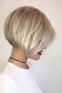 Textured Stacked Bob
