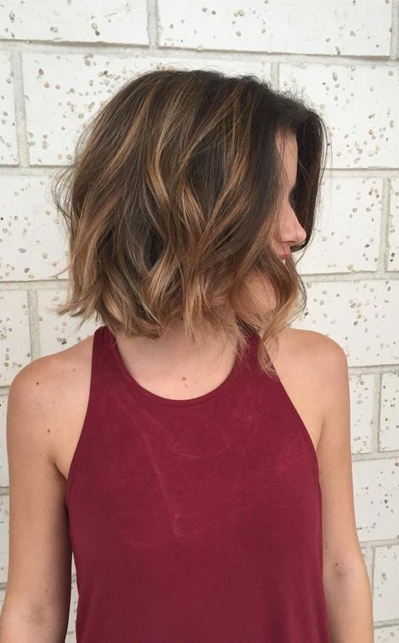 35 balayage styles and color ideas for short hair a warm and toasty brown on brown balayage style will make your brunette locks feel special while still feeling like yourself solutioingenieria Choice Image