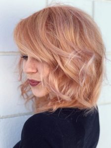 Warm Straberry Lilac Blonde