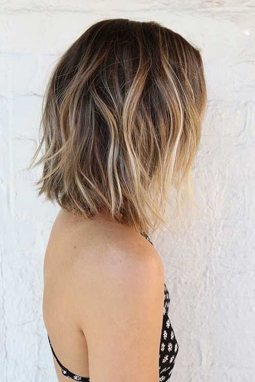 Photo Short Hairstyles With Highlights And Lowlights Daily Ideas Of 17 Best