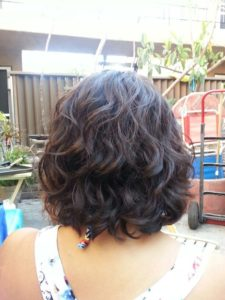 digital perm bob