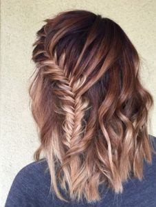 fisthail lace braid