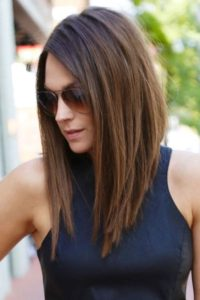 layered a-line haircut