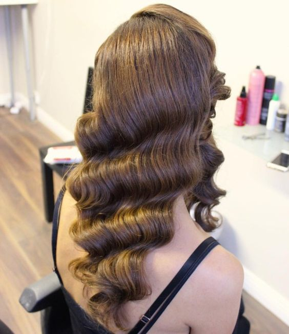 wave hair style 30 glamorous finger wave styles for any hair length part 9 4887