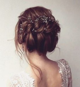 twisted bridal style