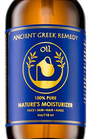 Ancient Greek Remedy 100% Organic Blend of Olive, Lavender, Almond, & Grapeseed Oil