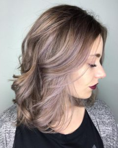 Light Lavender Balayage