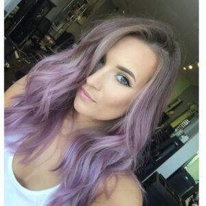 Muted greyish lavender