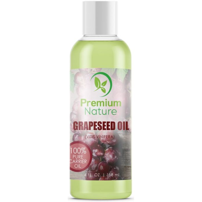 Premium Nature Grapeseed Oil Natural Carrier Oil