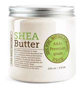 Pure Body Naturals AAA+ Unrefined Organic Shea Butter