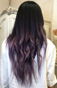 antique purple ombre