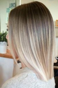 blonde color melt
